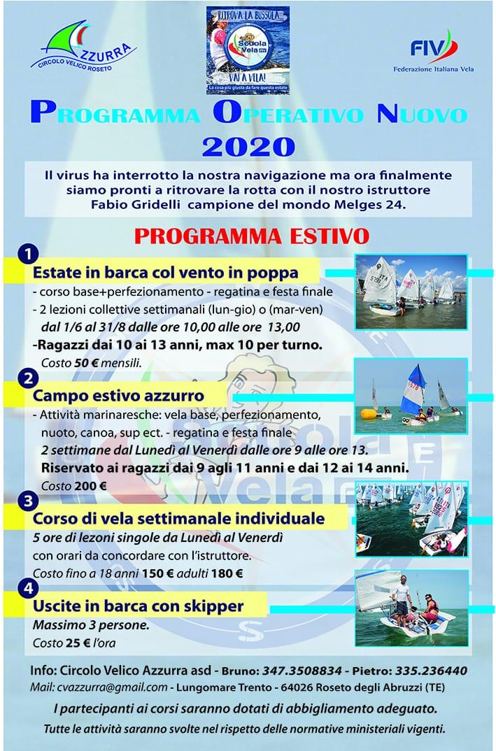 Programma Operativo Nuovo 2020